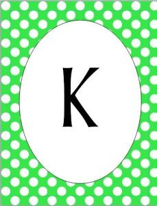 K pennant