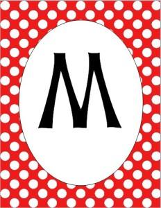 M pennant