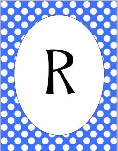 R pennant
