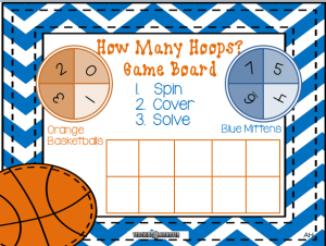 How Many Hoops game board picture