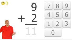 xtra math key pad