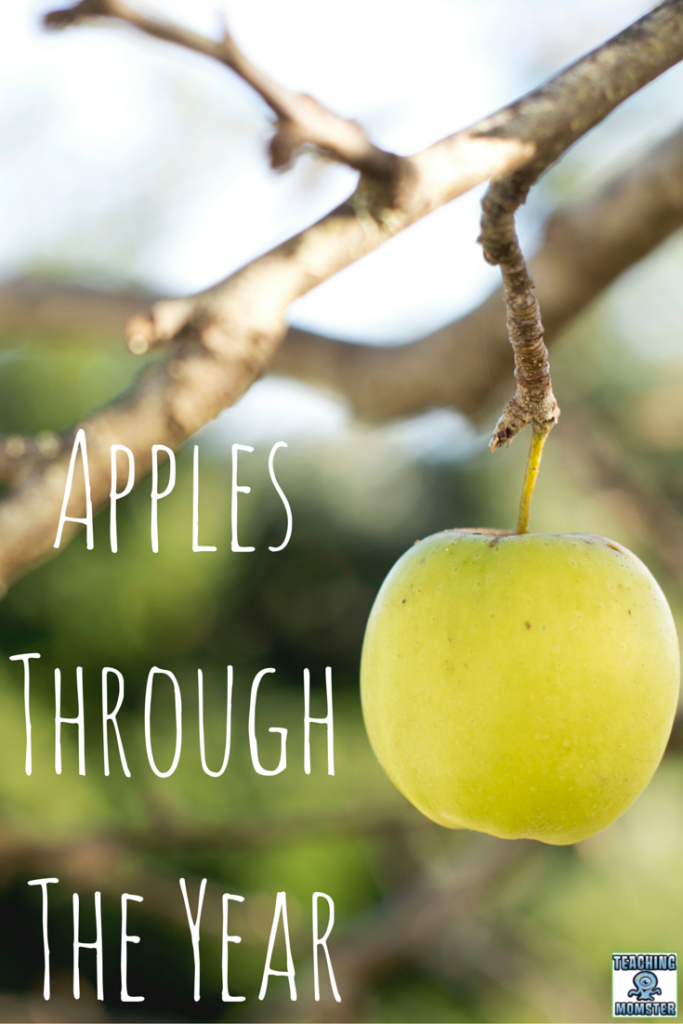 Apples Through the Year--A great book to share and a FREEBIE to help teach the apple life cycle.