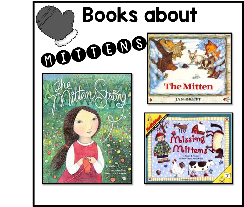 Books about mittens pic