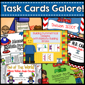 Task Cards by Teaching Momster