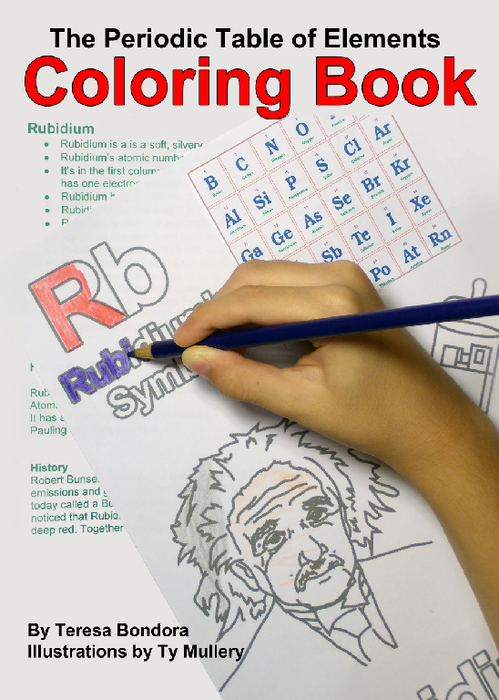 Periodic table coloring book teaching momster periodic table for each element theresa has included facts that you can share with the kids or they can read on their own depending on their age urtaz